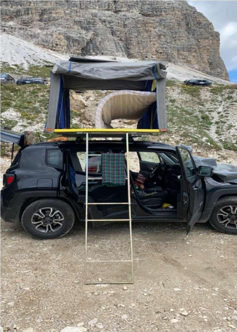 Tenda Maggiolina Air Camping sotto le tre cime di lavaredo