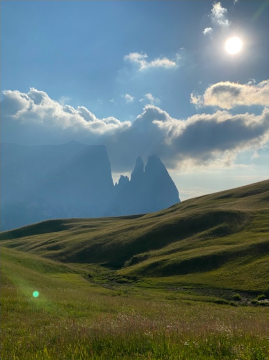 Alpe di Siusi panorama mozzafiato