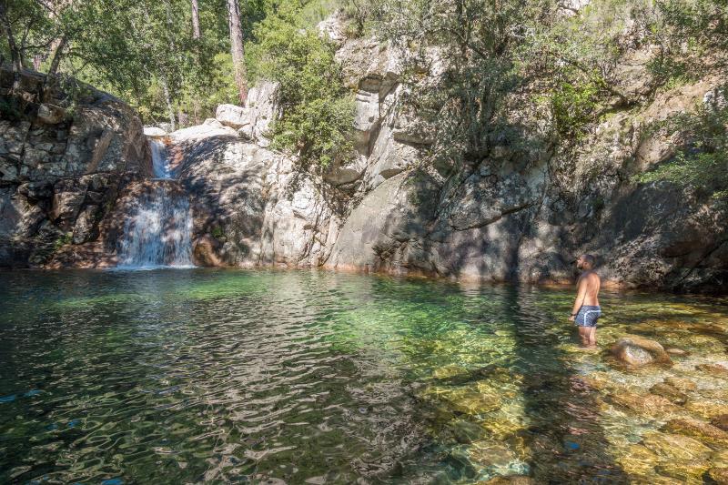 Wasserfälle von Polischellu