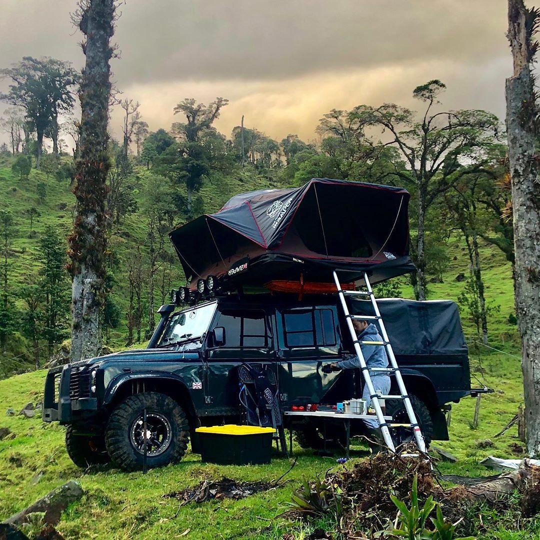 X-Cover: tenda da tetto dell'ikamper