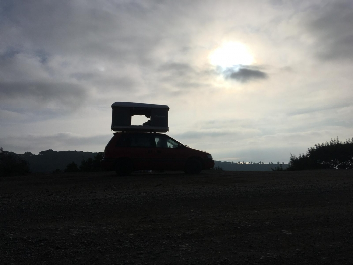 Elba with Vivishare rooftop tent in late October! Dachzelt Nähe Bozen!